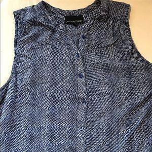 Cynthia Rowley Tops - Really soft sleeveless blue top size M